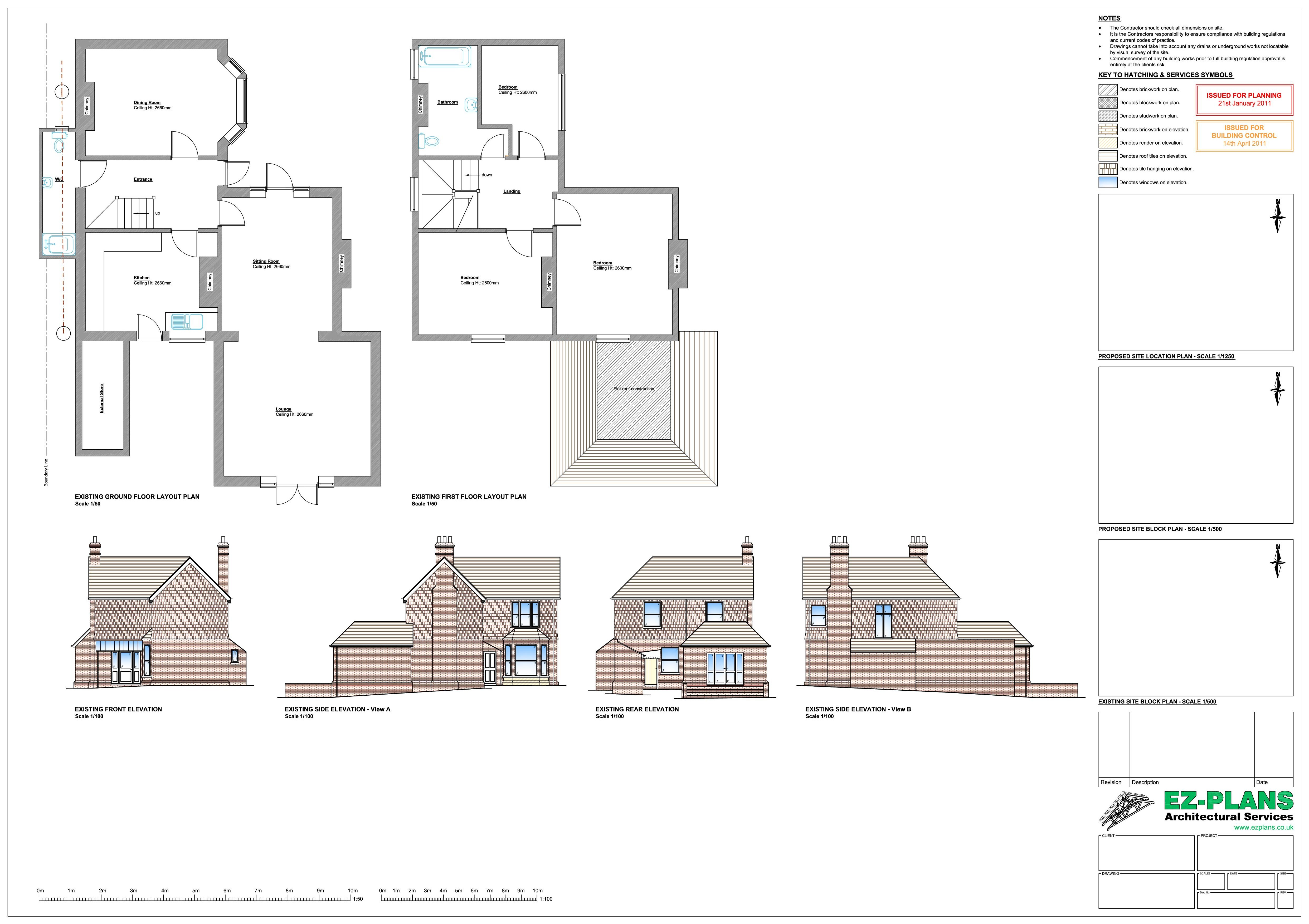 Ez plans projects for House plan drawing samples